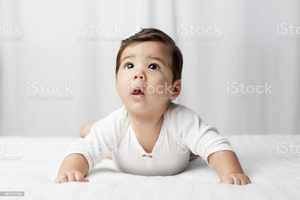 Latin baby royalty-free stock photo