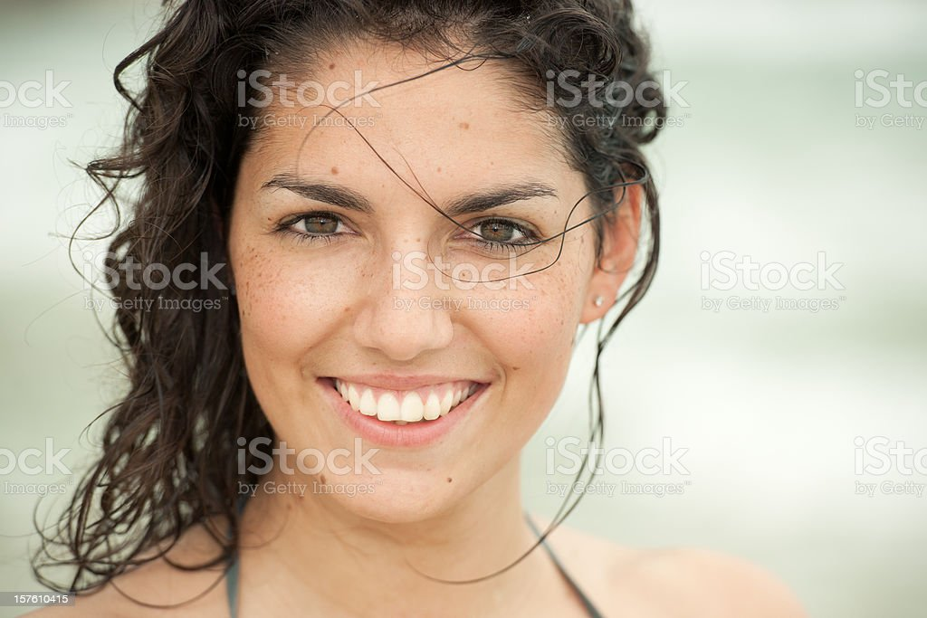 Latin Beauty royalty-free stock photo