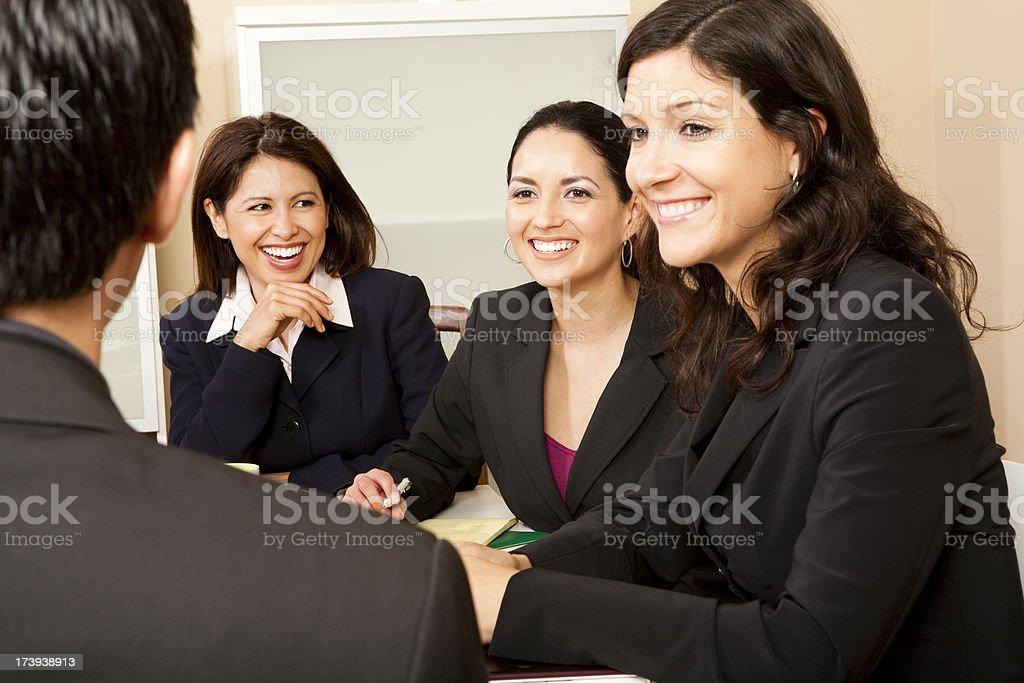 Latin Business Females royalty-free stock photo