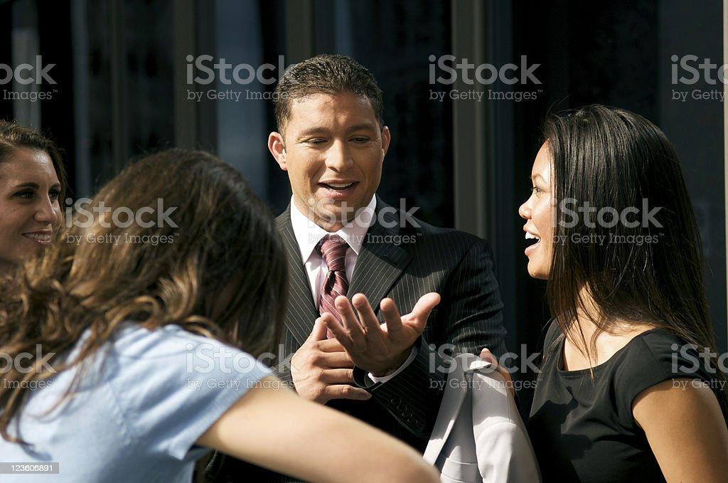 Latin Businessman royalty-free stock photo
