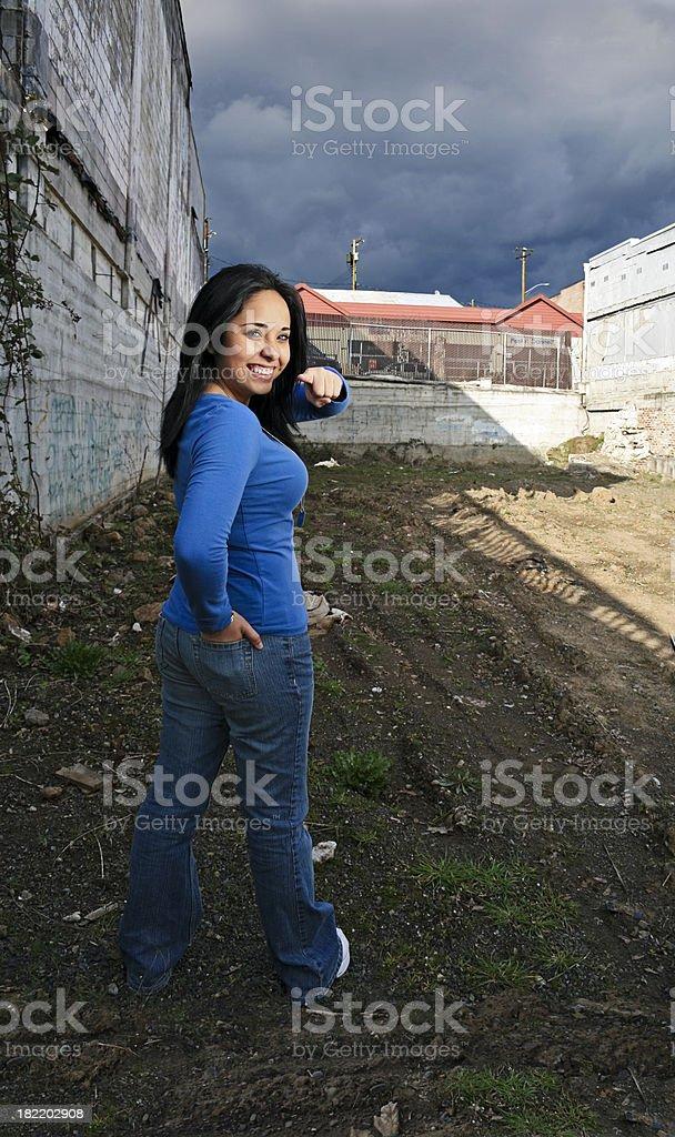 Latin Girl royalty-free stock photo