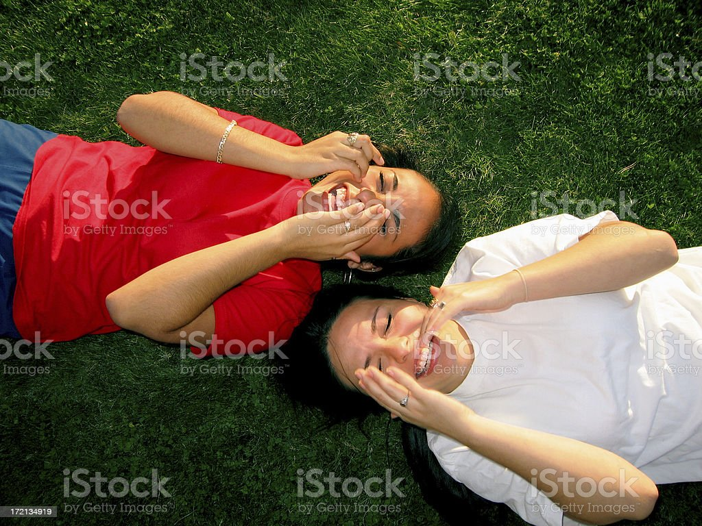 Latin Laughter royalty-free stock photo