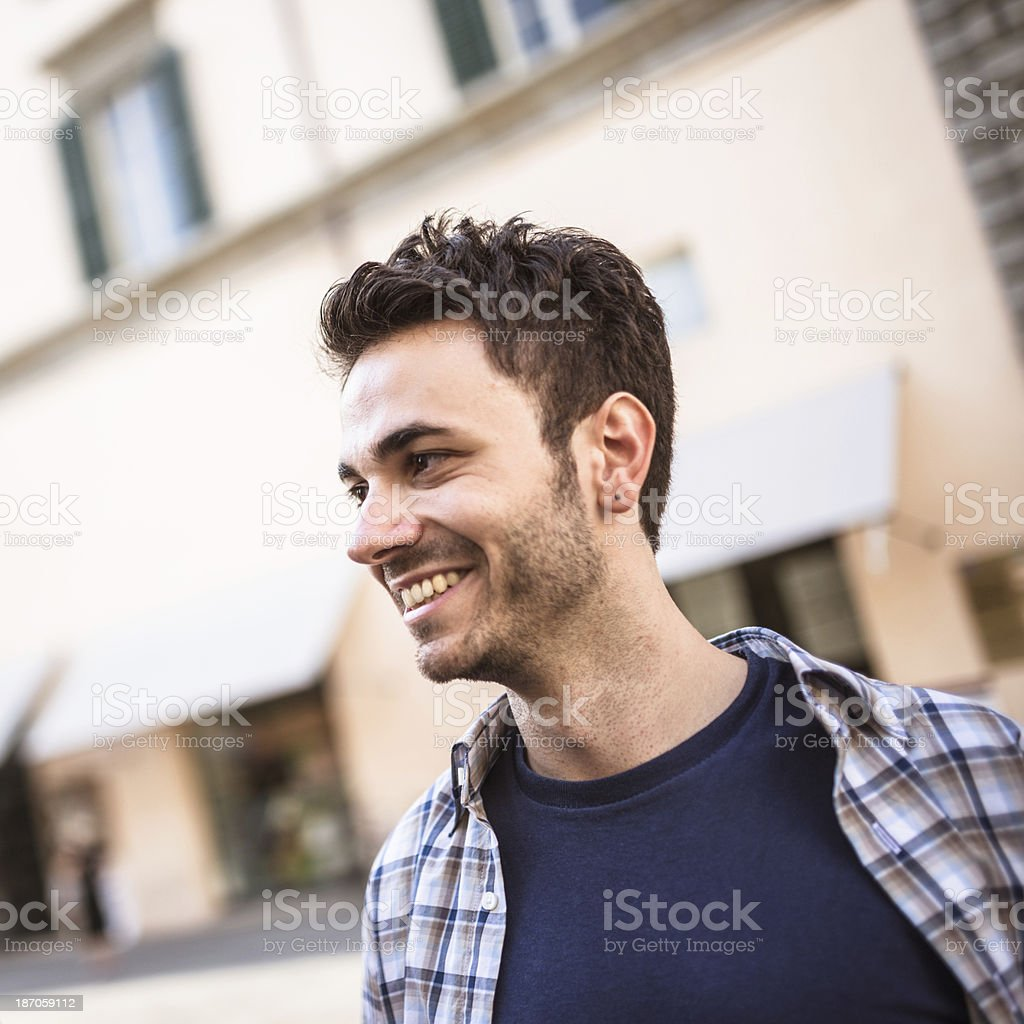 latin Real people on the city royalty-free stock photo