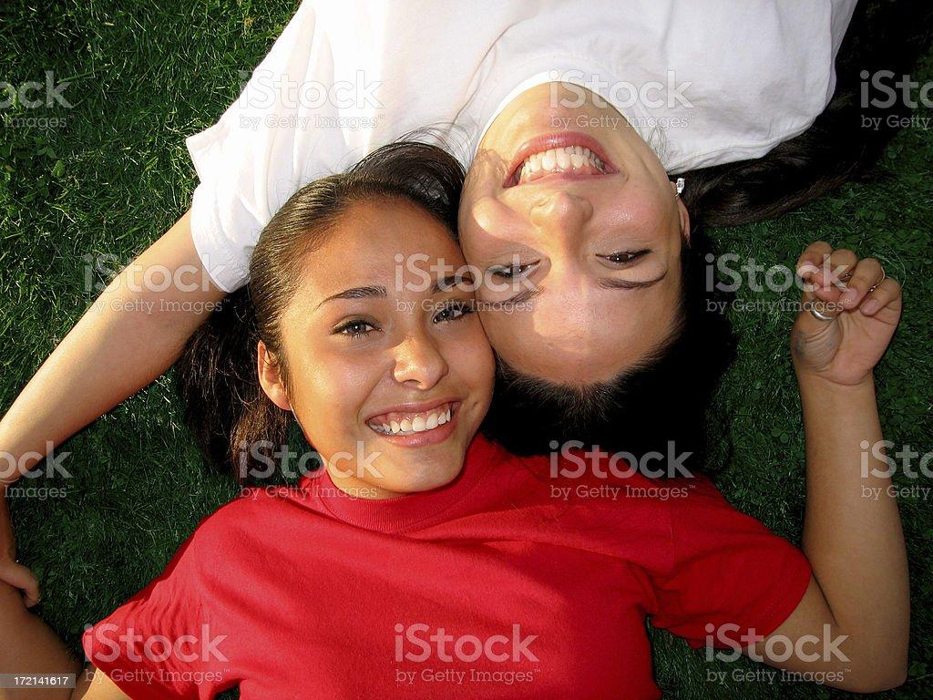 Latin Smiles royalty-free stock photo