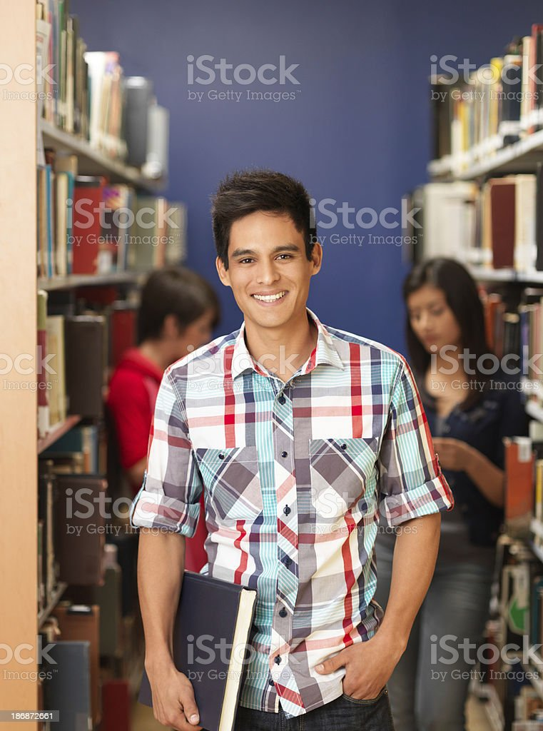 Latin student royalty-free stock photo
