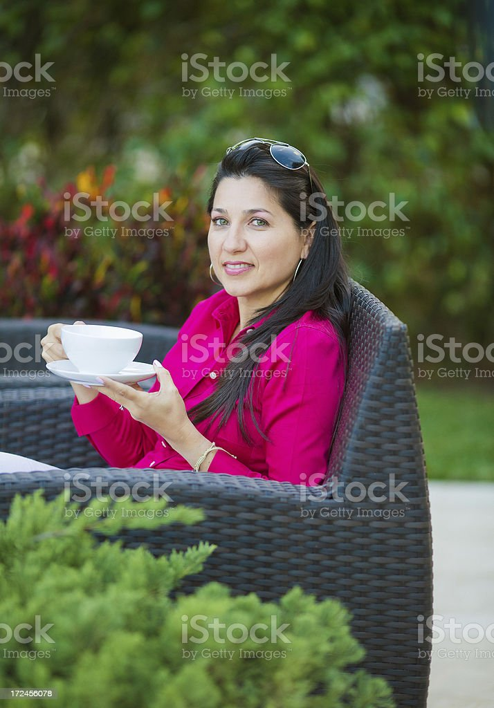 latin woman portrait royalty-free stock photo