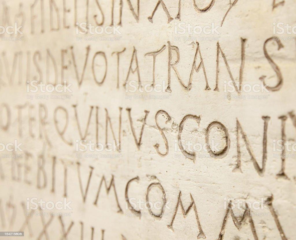 latin writing background stock photo