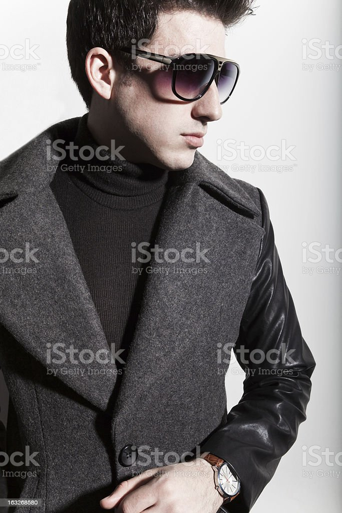 Latin young man royalty-free stock photo