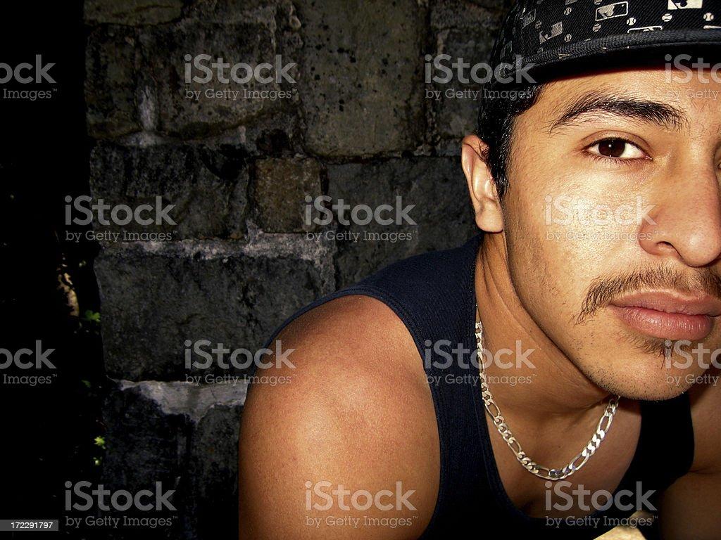 Latin Young royalty-free stock photo