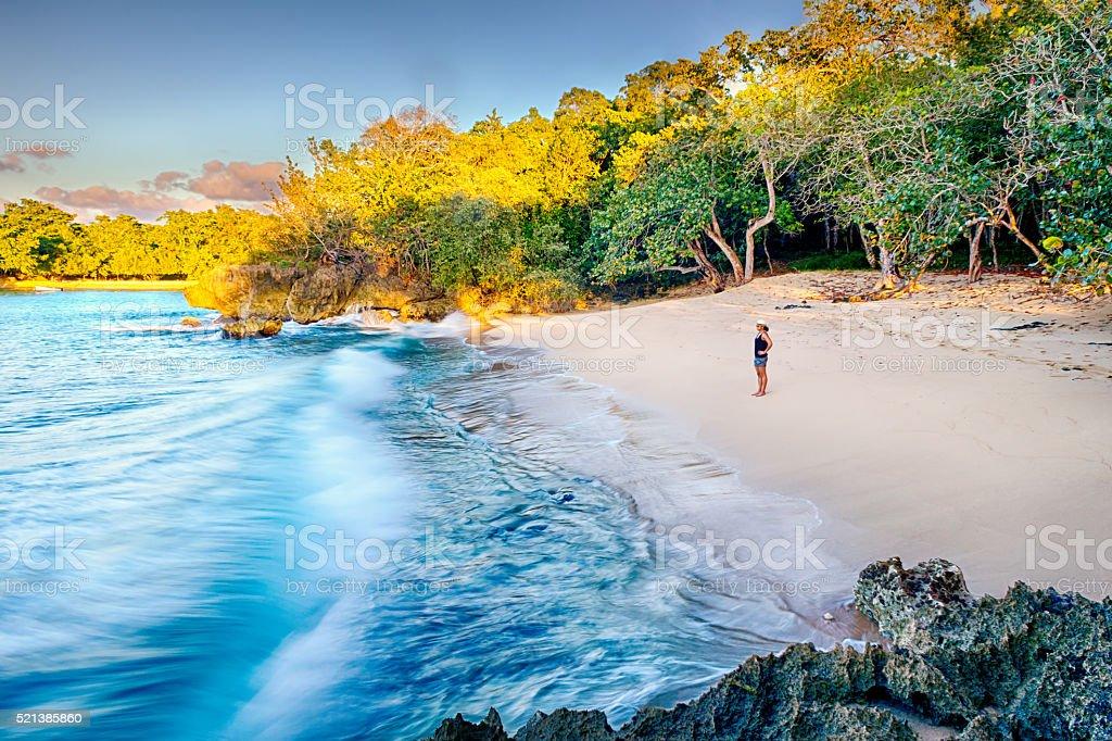 Latina Beach stock photo