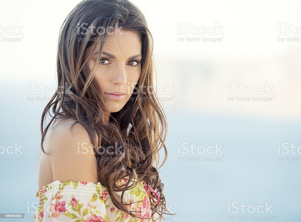 Latina Beauty stock photo