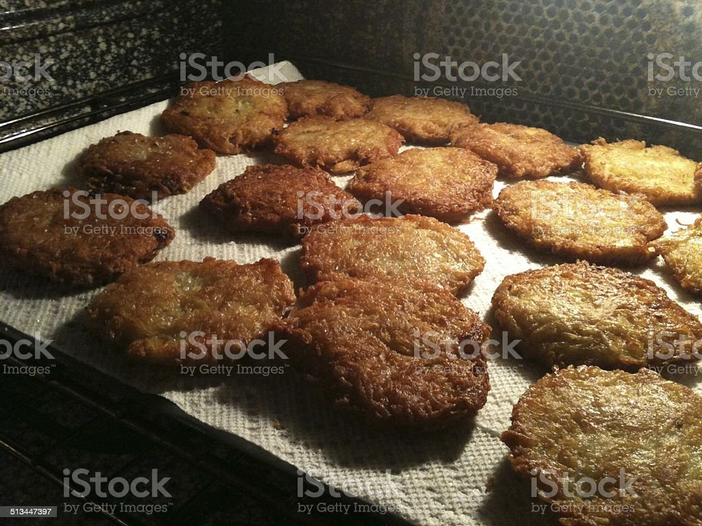 Latkes royalty-free stock photo