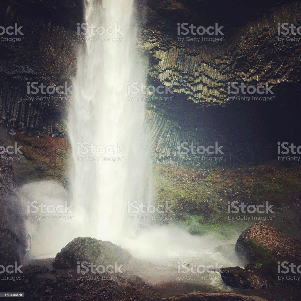 Latourell Falls royalty-free stock photo