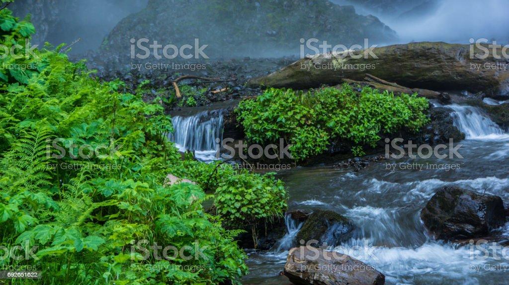 Latourelle Falls stock photo