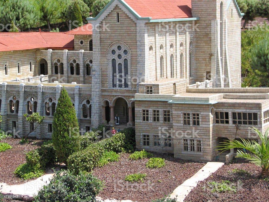 latrun church royalty-free stock photo