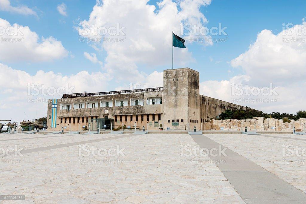 Latrun Fortress stock photo