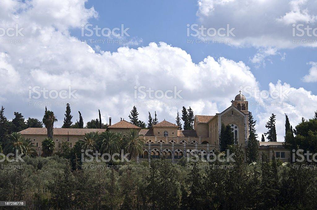 Latrun, Israel - Trappist Monastery. stock photo