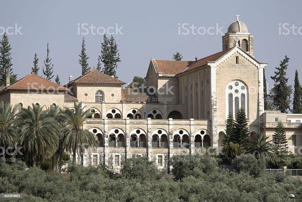 Latrun, Israel - Trappist Monastery stock photo