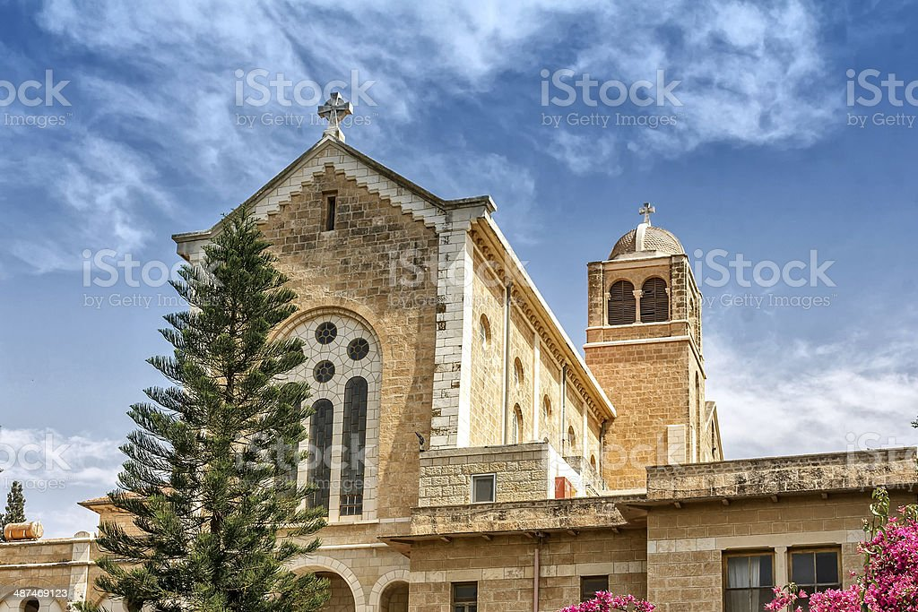 Latrun Monastery stock photo