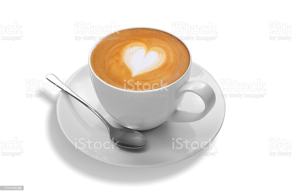 latte art royalty-free stock photo