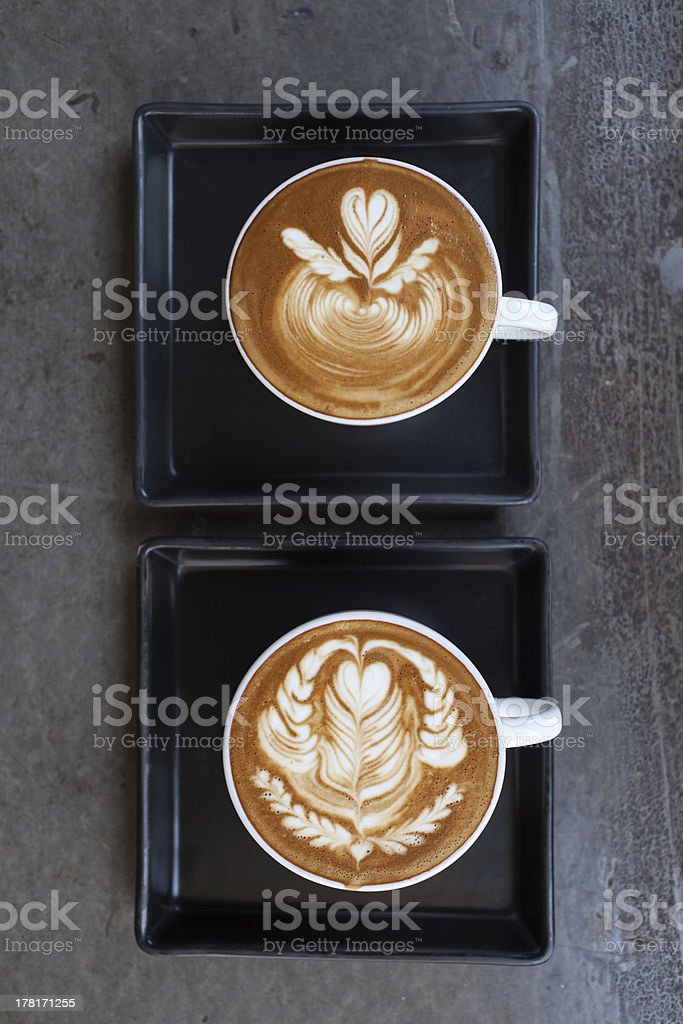 latte coffee royalty-free stock photo