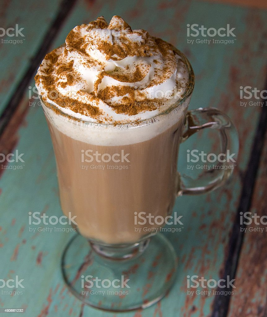 Latte drink stock photo