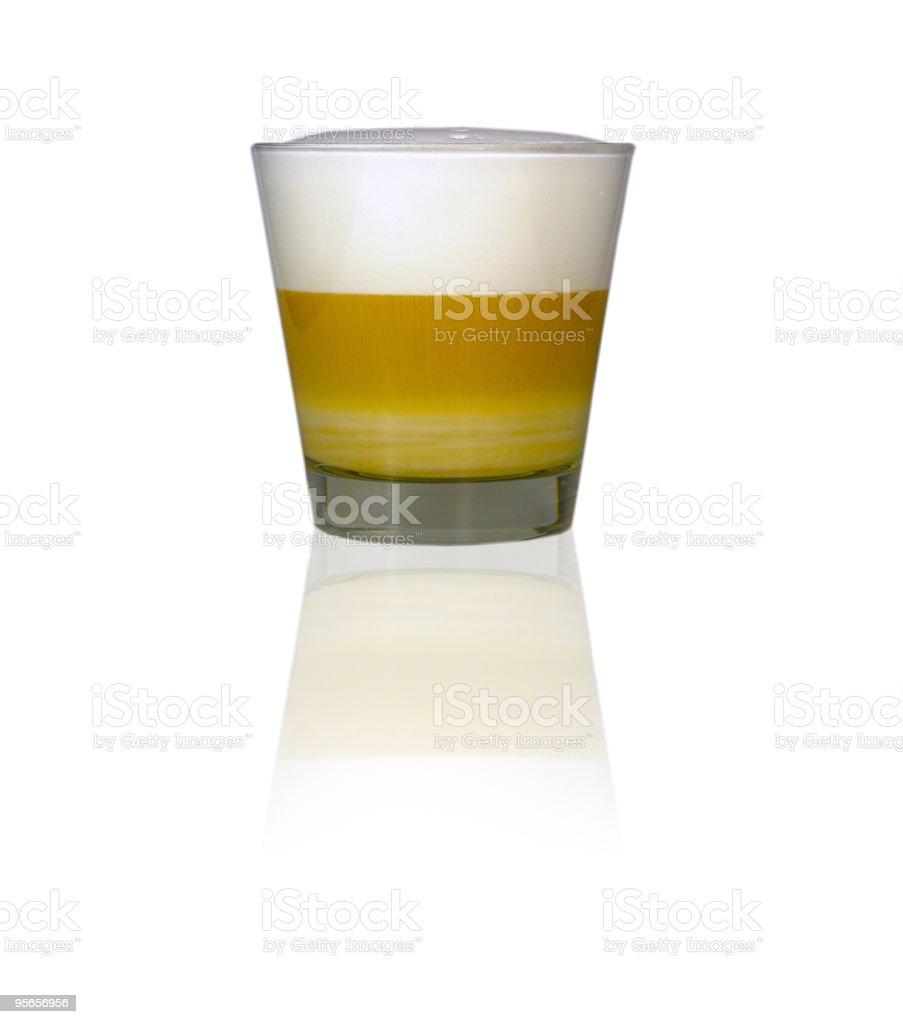 Latte machiato royalty-free stock photo