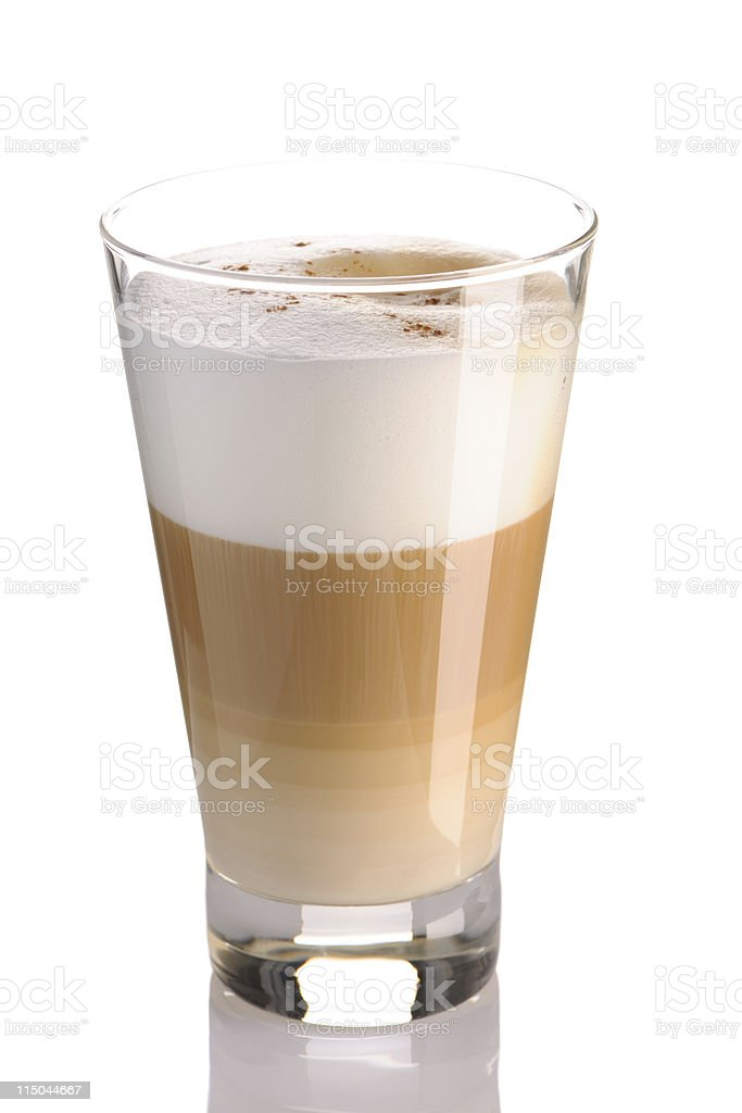 Latte royalty-free stock photo