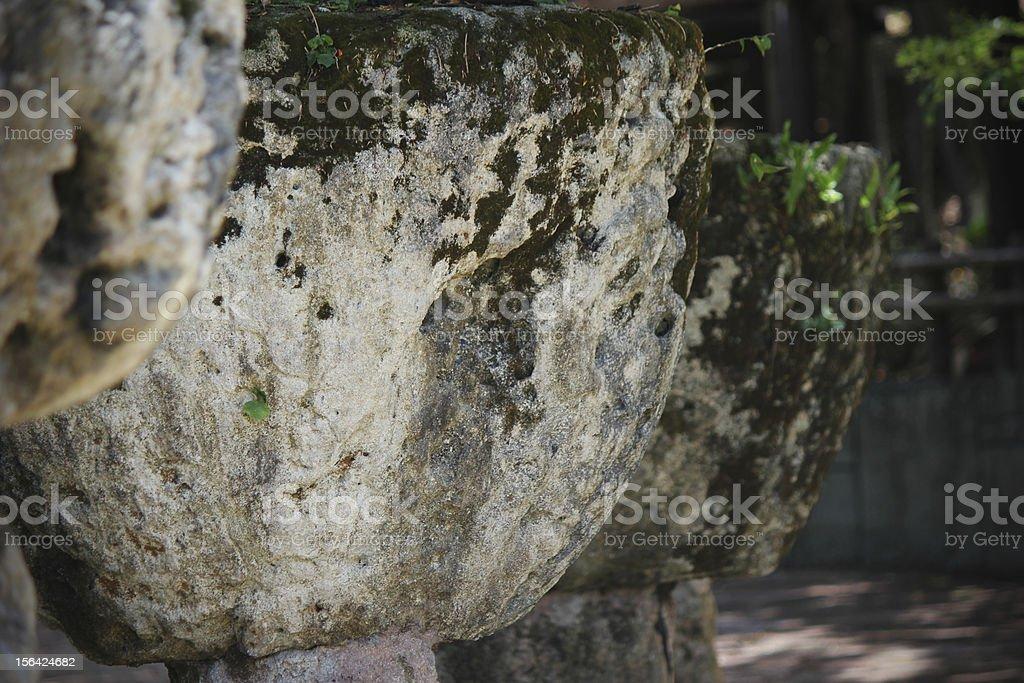 Latte Stones, Guam - Micronesia royalty-free stock photo