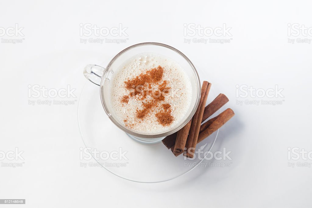 Latte Vainilla stock photo