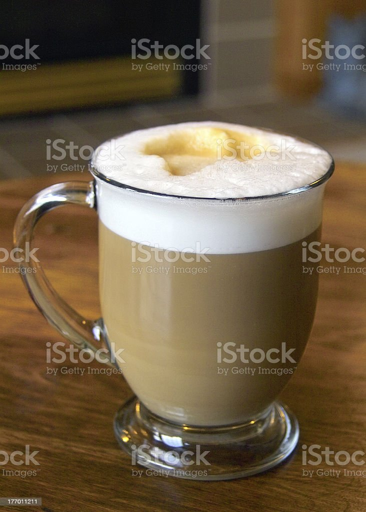 A Latte1 royalty-free stock photo