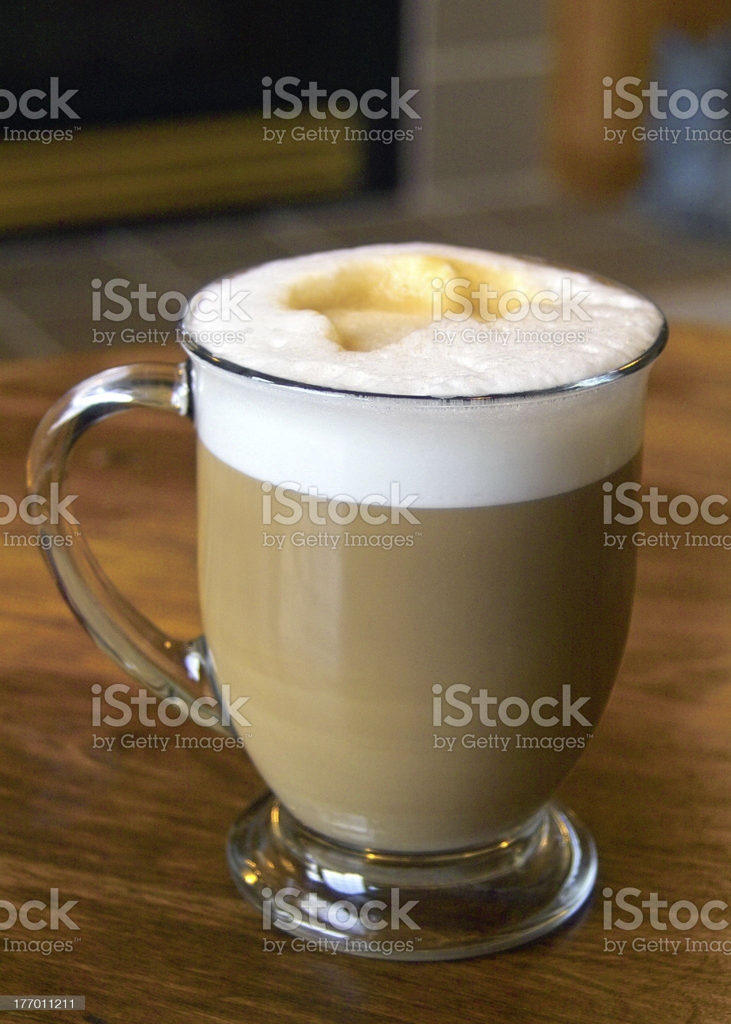 A Latte1 royalty-free stock photo