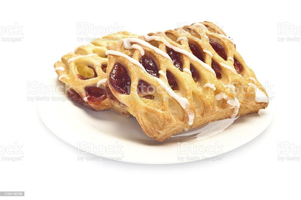 Lattice Jam Tart stock photo