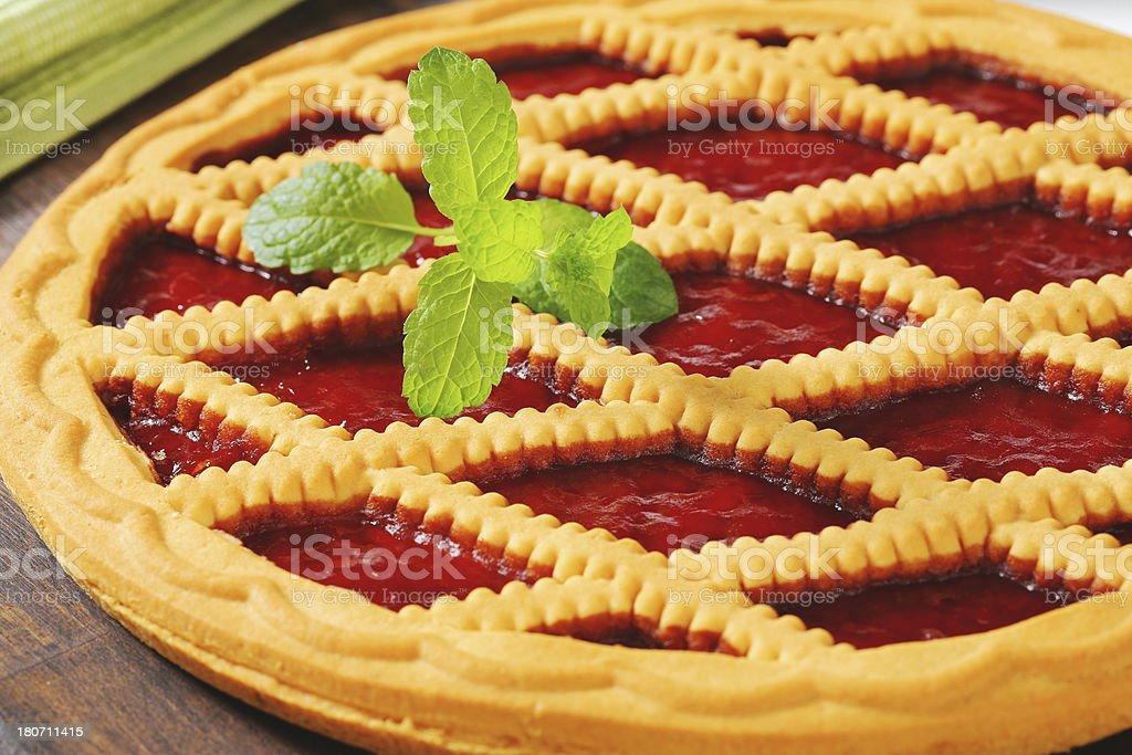 lattice pie royalty-free stock photo