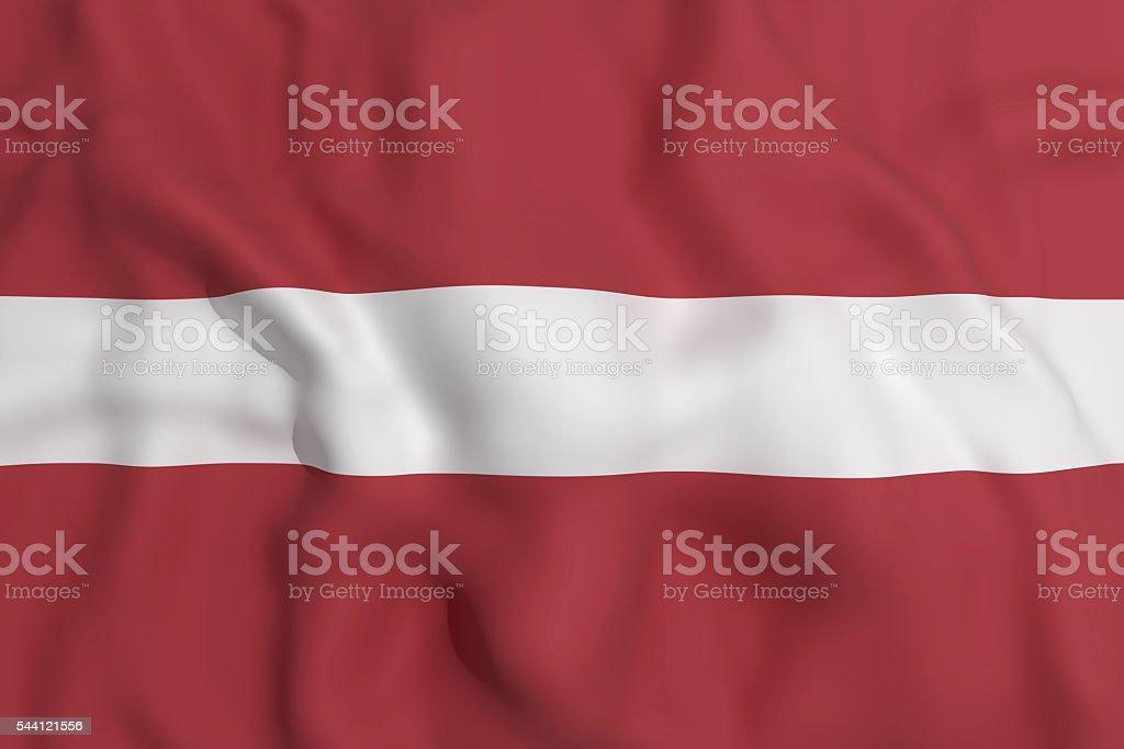 Letonia flag stock photo