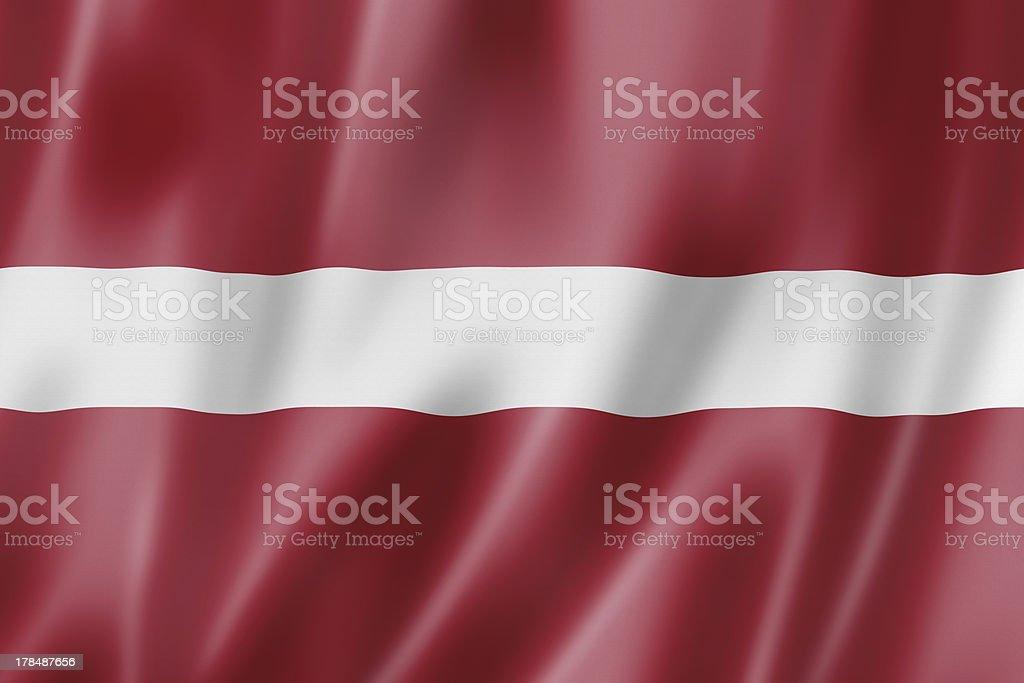 Latvian flag stock photo