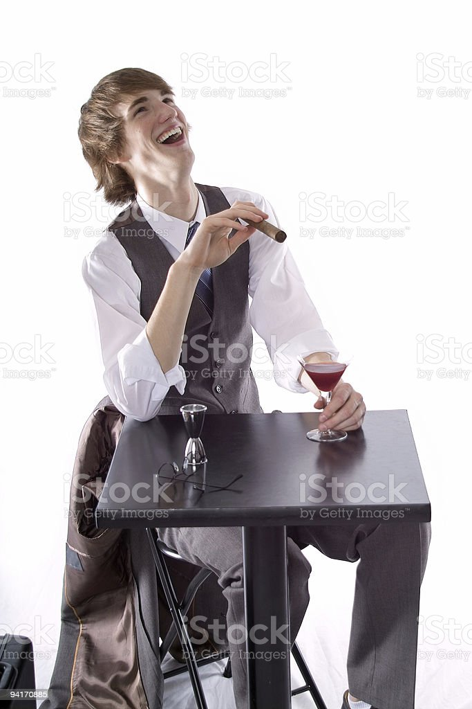 Laugh It Up royalty-free stock photo