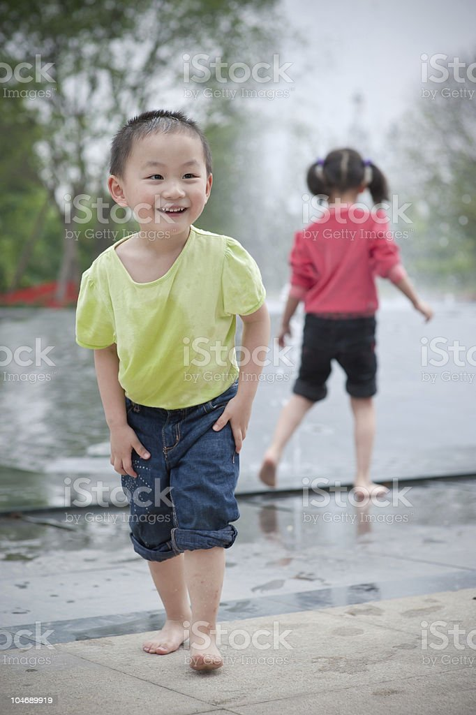 laughing asian boy royalty-free stock photo