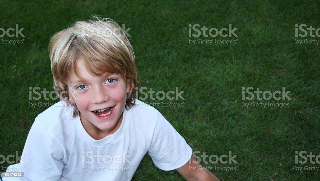 laughing boy royalty-free stock photo