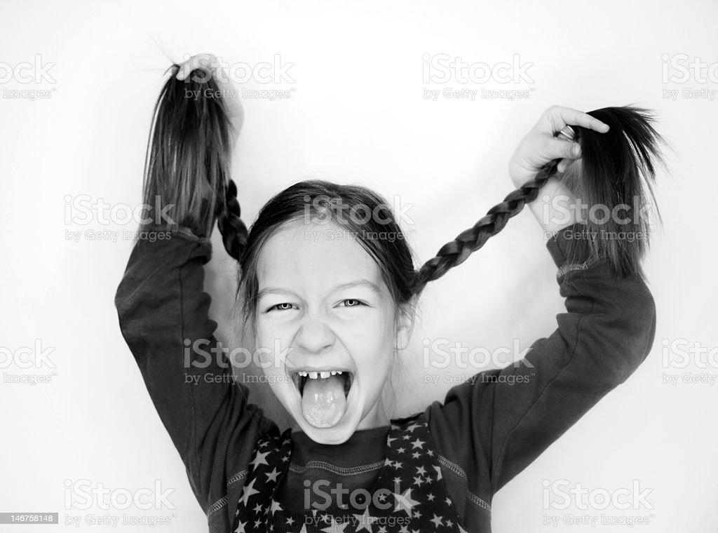 laughing girl royalty-free stock photo