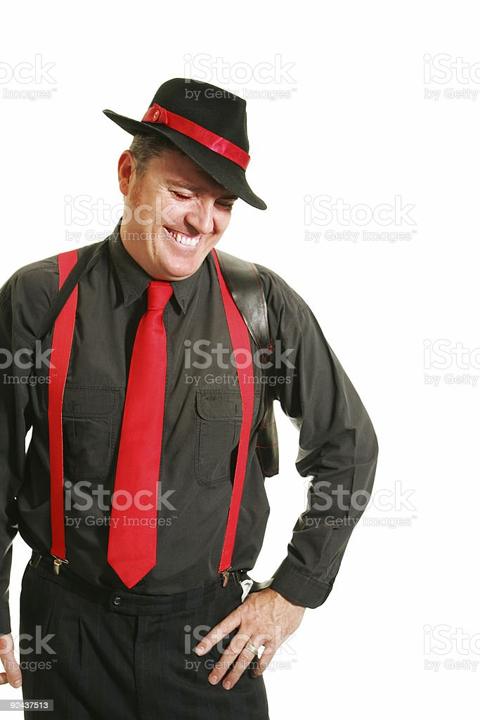 Laughing Guy stock photo
