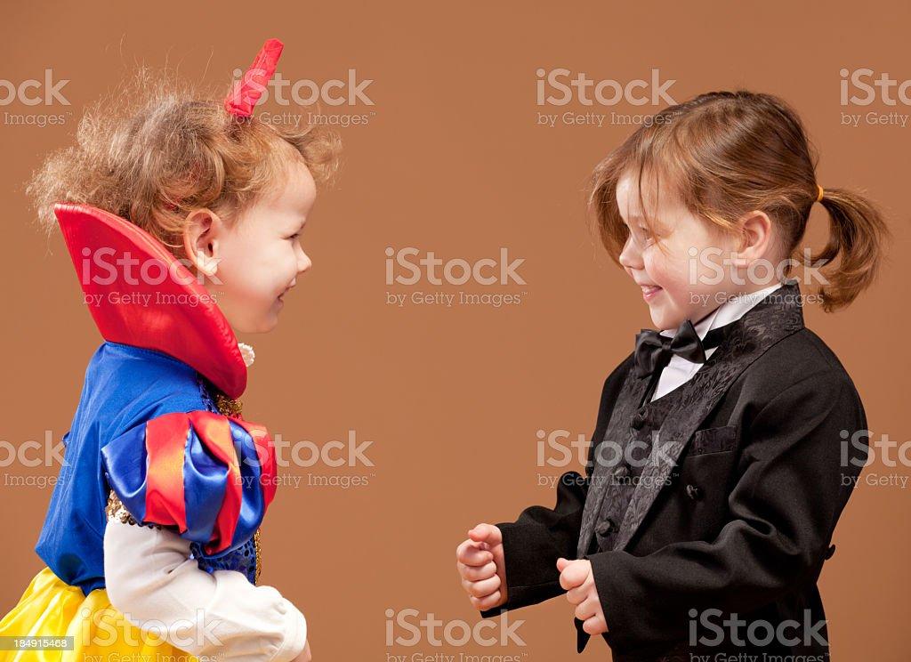 Laughing kids royalty-free stock photo