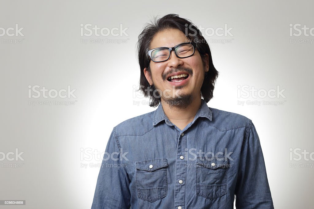 Laughing stock photo