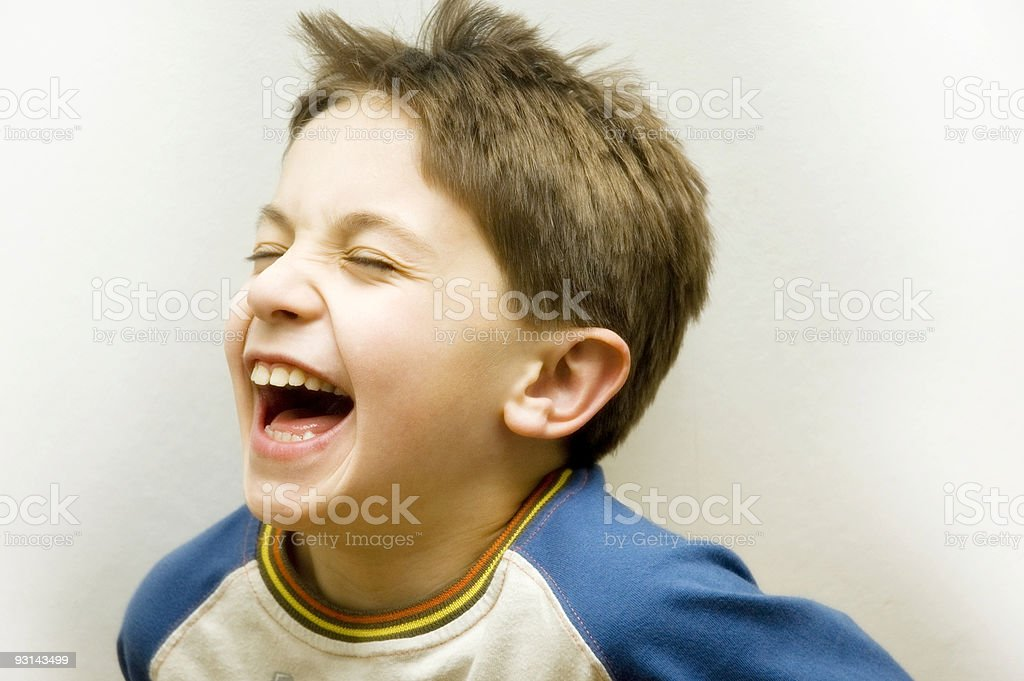 Laughing royalty-free stock photo