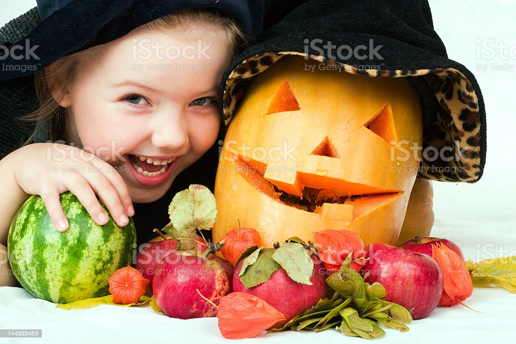 laughing witch royalty-free stock photo