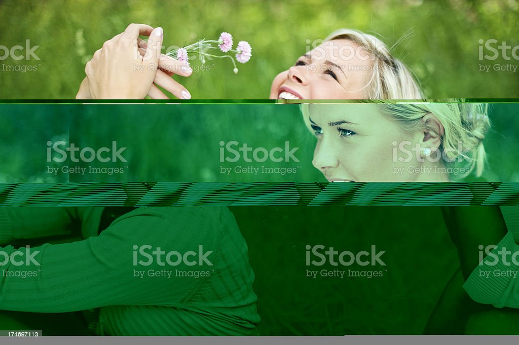 Laughing woman royalty-free stock photo
