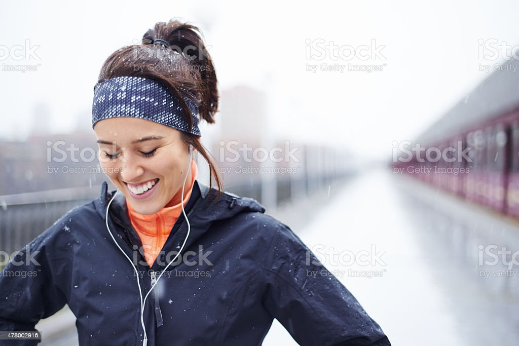 Laughter, and a healthy lifestyle stock photo