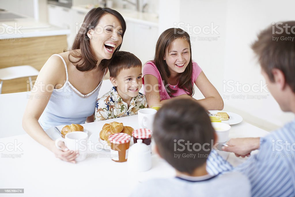 Laughter and Love! royalty-free stock photo