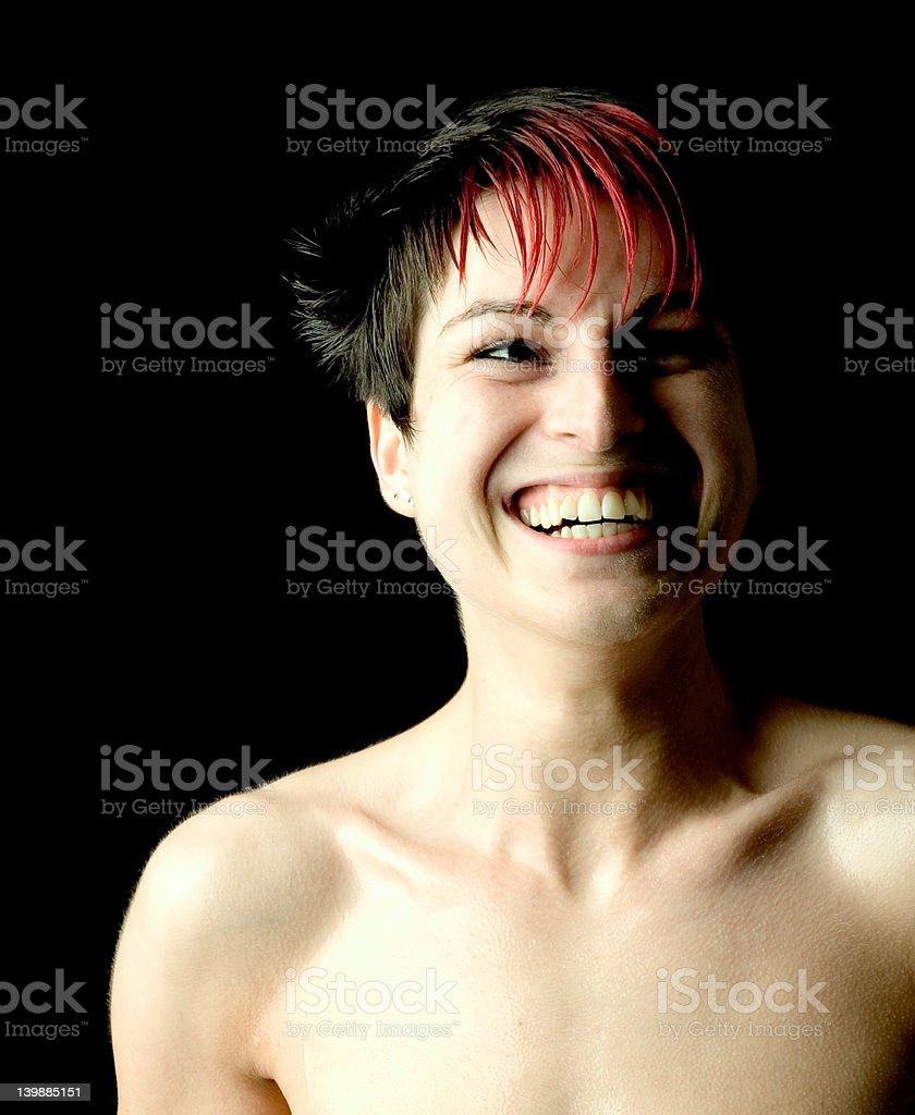 laughter stock photo
