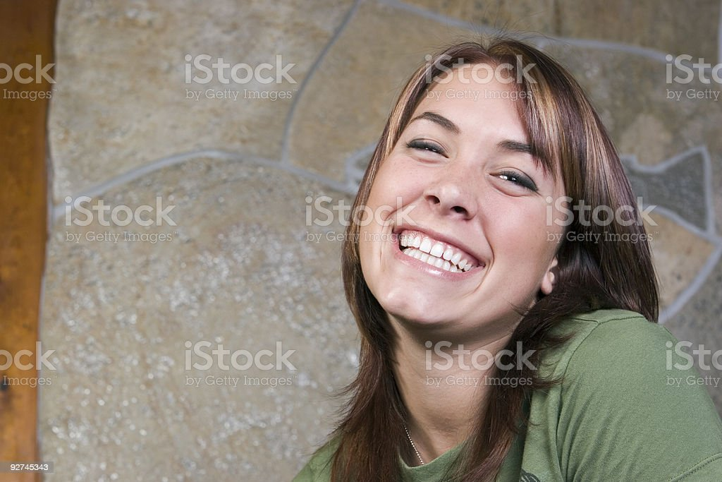 Laughter royalty-free stock photo